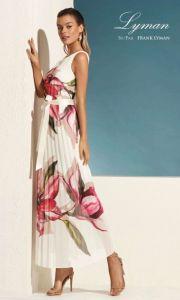 frank-lyman-naisten-mekko-valkopohjainen-kuosi-1