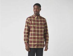 fred-perry-miesten-kauluspaita-tonal-tartan-shirt-ruskea-ruutu-1
