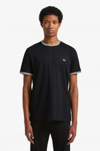 fred-perry-miesten-t-paita-twin-tipped-musta-1
