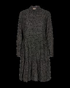freequent-naisten-fqflema-dress-musta-kuosi-1