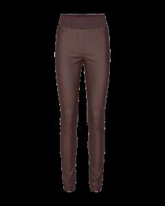 freequent-naisten-housut-shantal-power-pants-tummanruskea-1