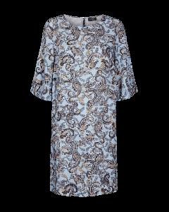 freequent-naisten-mekko-bela-dress-3-4-sininen-kuosi-1