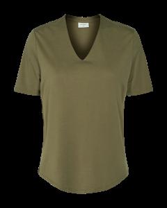 freequent-naisten-pusero-yr-ss-blouse-khaki-1