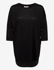 freequent-naisten-tunika-amelia-blouse-musta-1