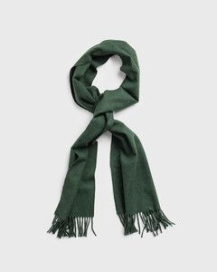 gant-huivi-solid-wool-scarf-armeijanvihrea-1