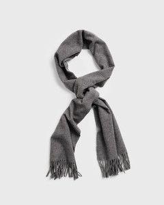 gant-huivi-solid-wool-scarf-keskiharmaa-1