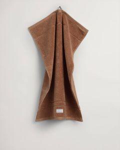 gant-kasipyyhe-organic-premium-towel-konjakinruskea-1