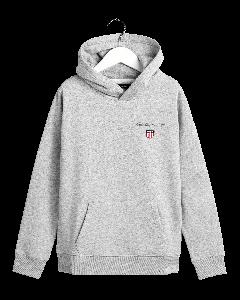 gant-kids-huppari-medium-shield-sweat-hoodie-vaaleanharmaa-1
