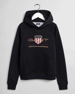 gant-kids-lasten-huppari-archive-shield-hoodie-musta-1