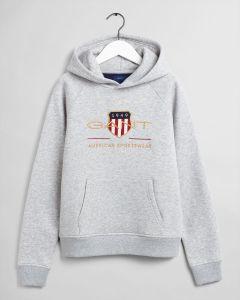 gant-kids-lasten-huppari-archive-shield-hoodie-vaaleanharmaa-1