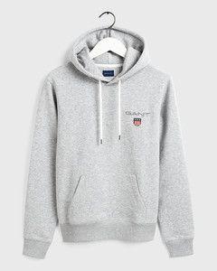 gant-medium-shield-hoodie-miesten-huppari-keskiharmaa-1
