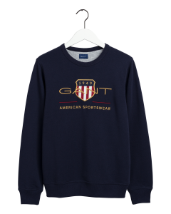 gant-miesten-collegepaita-archive-shield-d-neck-tummansininen-1