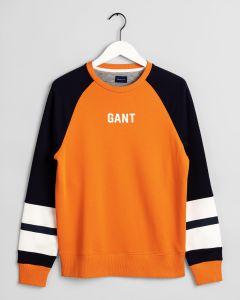 gant-miesten-collegepaita-logo-c-neck-oranssi-1