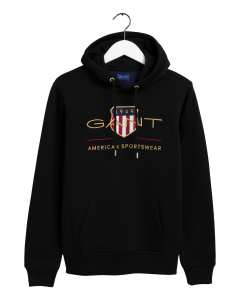 gant-miesten-huppari-archive-shield-hoodie-musta-1