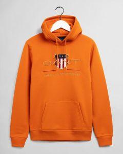 gant-miesten-huppari-archive-shield-hoodie-oranssi-1