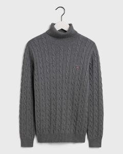gant-miesten-neule-cotton-cable-turttle-neck-tummanharmaa-1