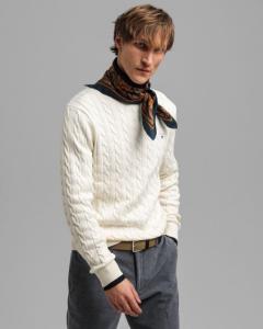 gant-miesten-neule-cotton-cable-valkoinen-2