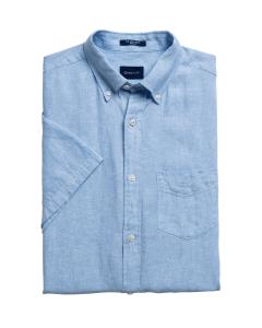 gant-miesten-pellavapaita-linen-shirt-ss-regular-keskisininen-1