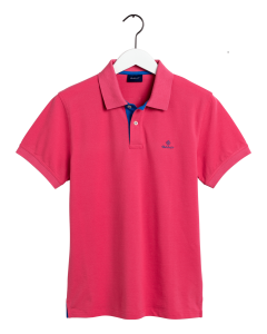 gant-miesten-pikeepaita-contrast-collar-fuksianpunainen-1