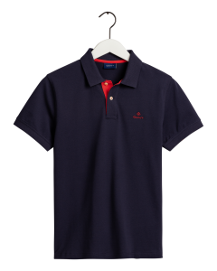 gant-miesten-pikeepaita-contrast-collar-tummansininen-1