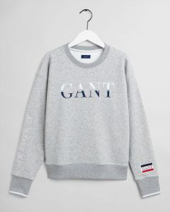 gant-naisten-collegepaita-graphic-c-neck-sweat-vaaleanharmaa-1