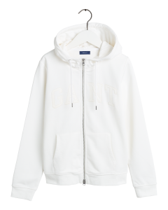 gant-naisten-huppari-arch-logo-zip-hoodie-valkoinen-1