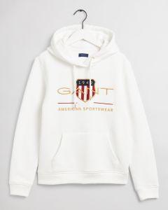 gant-naisten-huppari-archive-shield-sweat-hoodie-luonnonvalkoinen-1