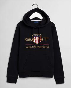 gant-naisten-huppari-archive-shield-sweat-hoodie-musta-1