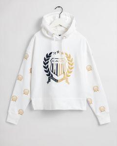 gant-naisten-huppari-crest-embroidery-sweat-hoodie-luonnonvalkoinen-1