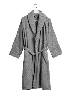 gant-naisten-kylpytakki-organic-premium-robe-keskiharmaa-1