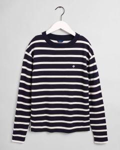gant-naisten-paita-breton-stripe-ls-top-raidallinen-sininen-1