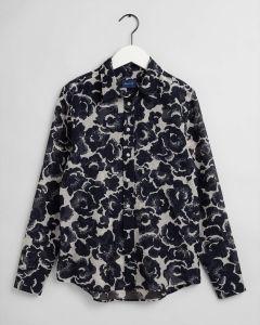 gant-naisten-paita-snow-blossom-cot-silk-shirt-sininen-kuosi-1