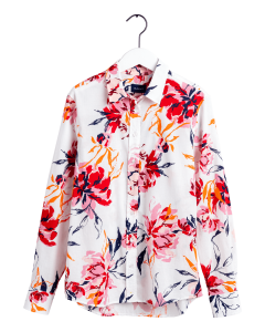 gant-naisten-paitapusero-peonies-cotton-voile-shirt-valkopohjainen-kuosi-1