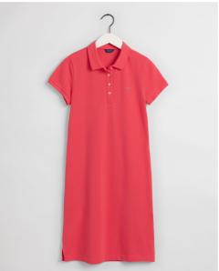 gant-naisten-pikeemekko-original-pique-ss-dress-vadelma-1
