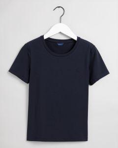 gant-naisten-t-paita-ela-ss-top-tummansininen-1