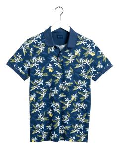 gant-pikeepaita-lemon-flower-sininen-kuosi-1