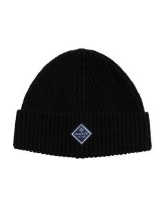 gant-pipo-cotton-rib-knit-musta-1