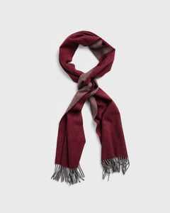 gant-two-faced-twill-scarf-viininpunainen-1