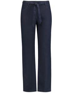 gerry-weber-naisten-pellavahousut-classic-fit-tummansininen-1