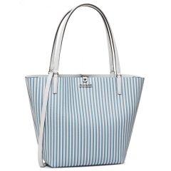 guess-kaantolaukku-pieni-laukku-alby-toggle-tote-stripe-raidallinen-sininen-1