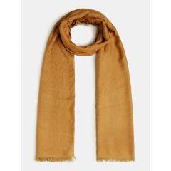 guess-naisten-huivi-brinkley-jacquard-scarf-80x180-keltainen-1