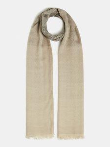 guess-naisten-huivi-dilla-jacquard-scarf-beige-kuosi-1