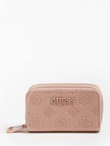 guess-naisten-lompakko-annabel-double-zip-mini-wallet-vaaleanpunainen-1