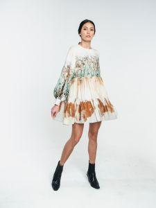 halo-naisten-minimekko-reidar-prairie-mini-dress-monivarinen-kuosi-1