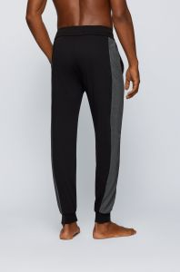 hugo-boss-miesten-housut-track-suit-pant-silver-logo-musta-2