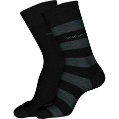 hugo-boss-miesten-sukat-2p-block-stripe-raidallinen-musta-1