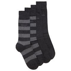 hugo-boss-miesten-sukat-2p-block-stripe-tummanharmaa-1
