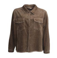 isay-naisten-takki-momo-jacket-ruskeanharmaa-2