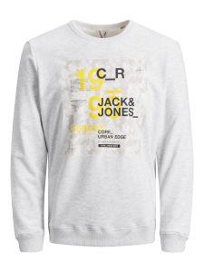 jack-and-jones-miesten-collegepaita-sax-sweat-crew-neck-vaaleanharmaa-1