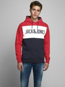 jack-and-jones-miesten-huppari-jjelogo-bloking-sweat-hood-punainen-kuosi-1